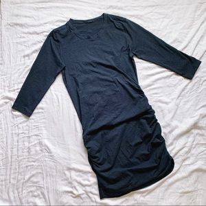 lululemon athletica Dresses - LULULEMON Anytime Dress Heathered Inkwell